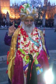 201601-indian-holy-man-at-london-climate-march
